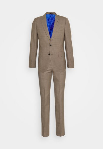 GENTS TAILORED FIT 2 BUTTON SET - Blazer jacket - brown