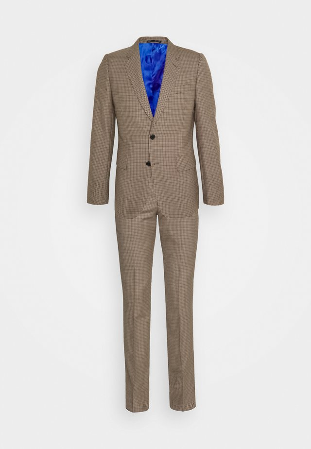 GENTS TAILORED FIT 2 BUTTON SET - Blazer - brown