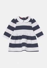 Tommy Hilfiger - BABY RUGBY STRIPE DRESS - Day dress - twilight navy - 0