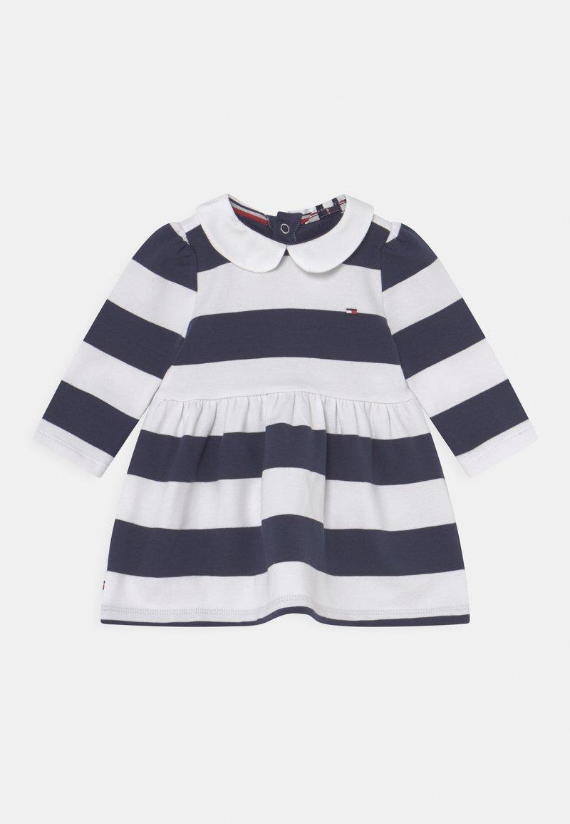 Tommy Hilfiger - BABY RUGBY STRIPE DRESS - Day dress - twilight navy