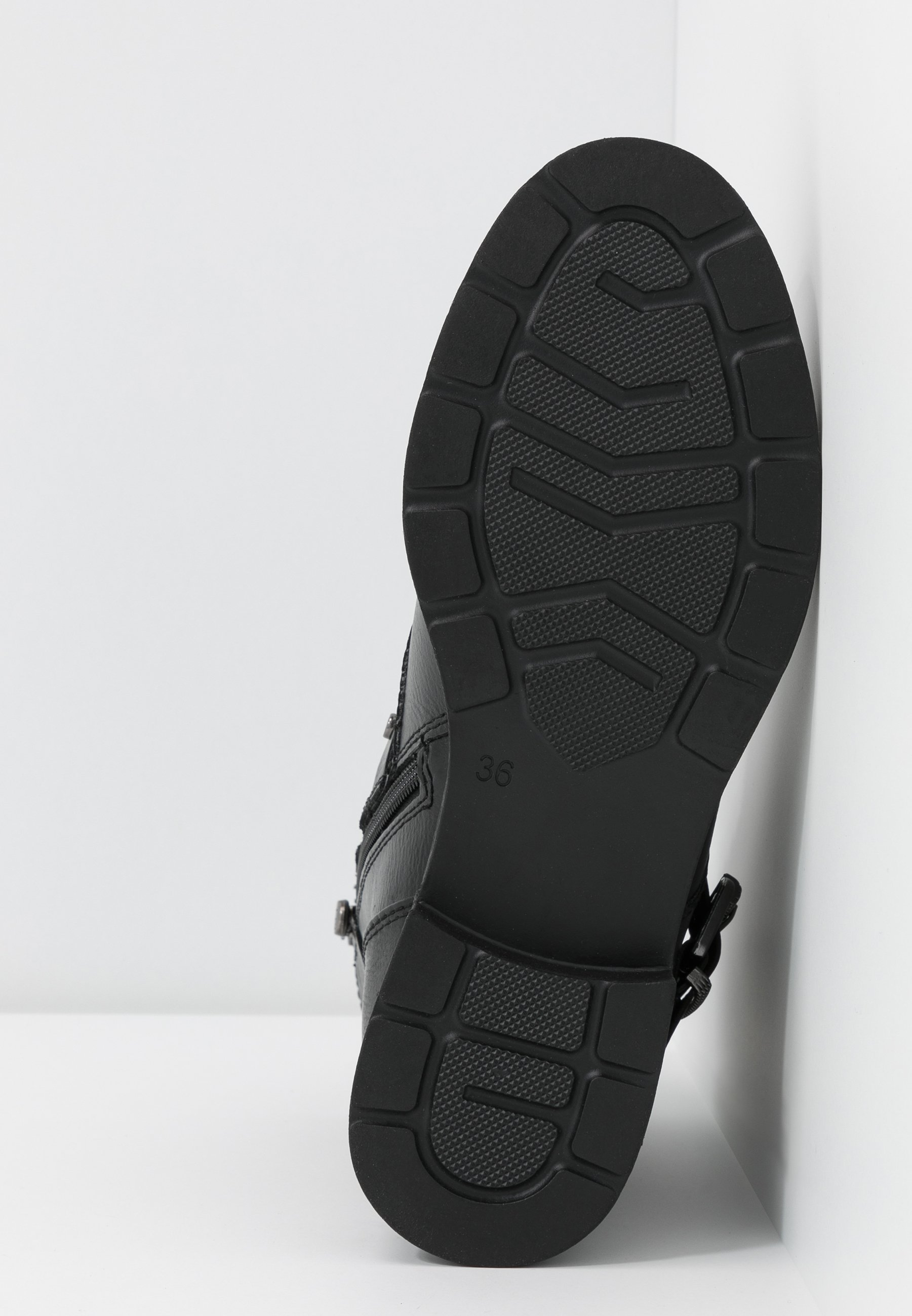 Marco Tozzi Cowboy-/Bikerstiefelette - black antic | Damen Schuhe 2020