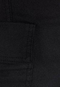 Bershka - MIT GÜRTEL  - A-line skirt - black - 5