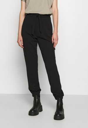 JDYCATIA PANT - Cargo trousers - black