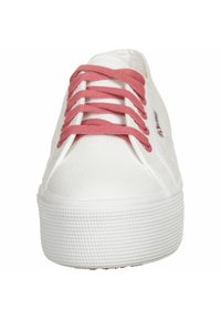 Superga - SCHUHE 2790 COT W CONTRAST - Trainers - white pink extase - 4