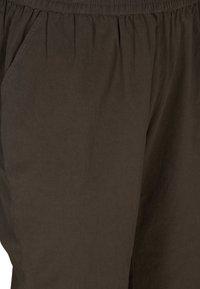 Zizzi - Trousers - khaki green - 2