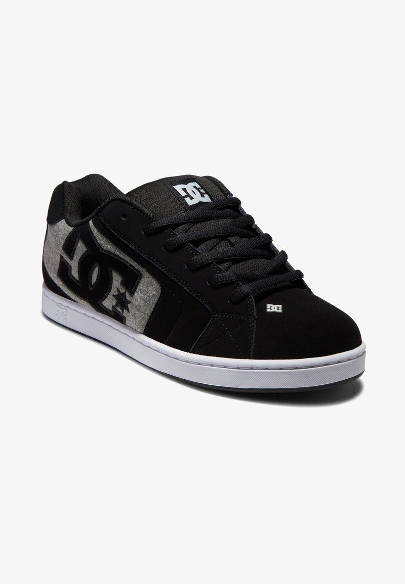 DC Shoes - NET UNISEX - Skeittikengät - black/grey/grey