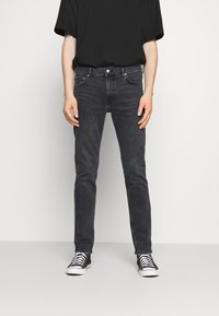 Weekday - FRIDAY - Slim fit jeans - night black - 0