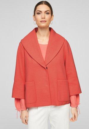Short coat - light orange