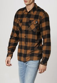 Dickies - SACRAMENTO - Camisa - brown duck - 2