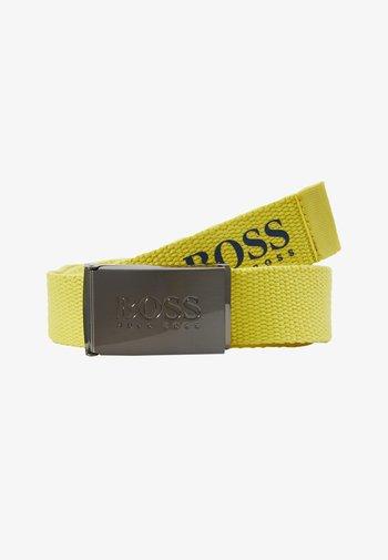 BELT - Belt - yellow