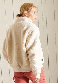 Superdry - SHERPA - Fleece jacket - pale oatmeal - 2
