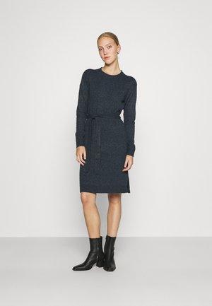 PCCAVA O NECK DRESS - Jumper dress - ombre blue