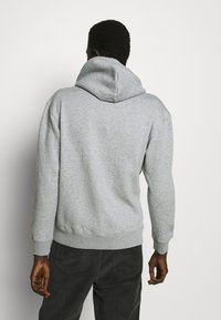 Jack & Jones - JJESOFT ZIP HOOD - Mikina na zip - light grey melange/relaxed - 2