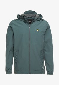Lyle & Scott - ZIP THROUGH HOODED JACKET - Summer jacket - jade green - 4