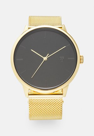 NANDO UNISEX - Watch - black/gold-coloured