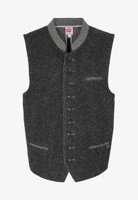 Spieth & Wensky - KNALLER - Waistcoat - dark grey - 4