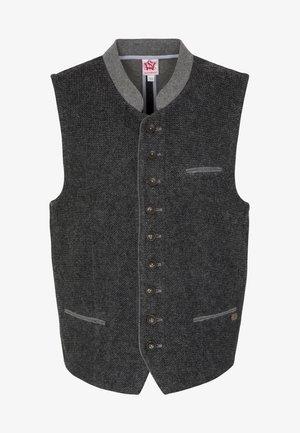 KNALLER - Waistcoat - dark grey