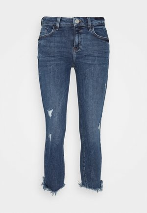 Jeansy Straight Leg - mid auth