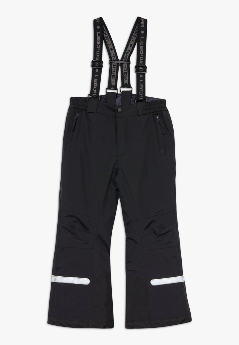 LEGO Wear - LWPOWAI  - Spodnie narciarskie - black