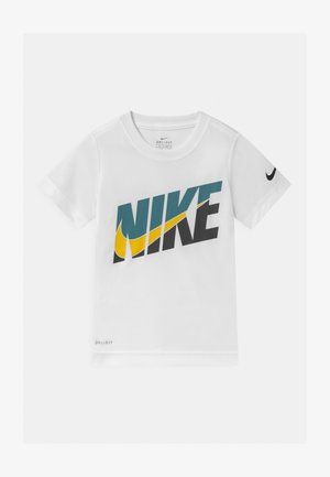 PERFORMANCE - T-shirt con stampa - white