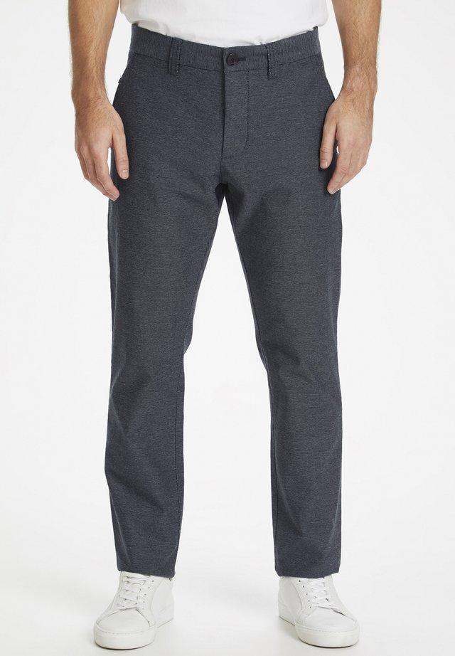 TWEEDY - Pantalon classique - dark navy