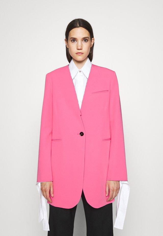 JACKET - Krátký kabát - pink