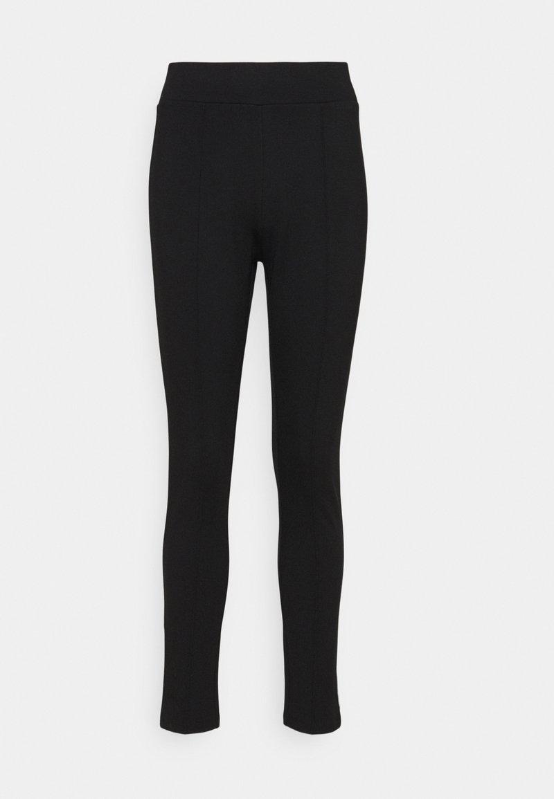 Opus - ELIKA - Leggings - Trousers - black