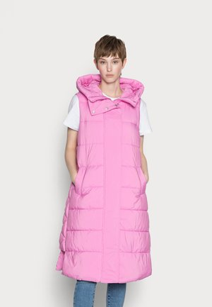 YASLIRA PADDED VEST - Waistcoat - fuchsia pink