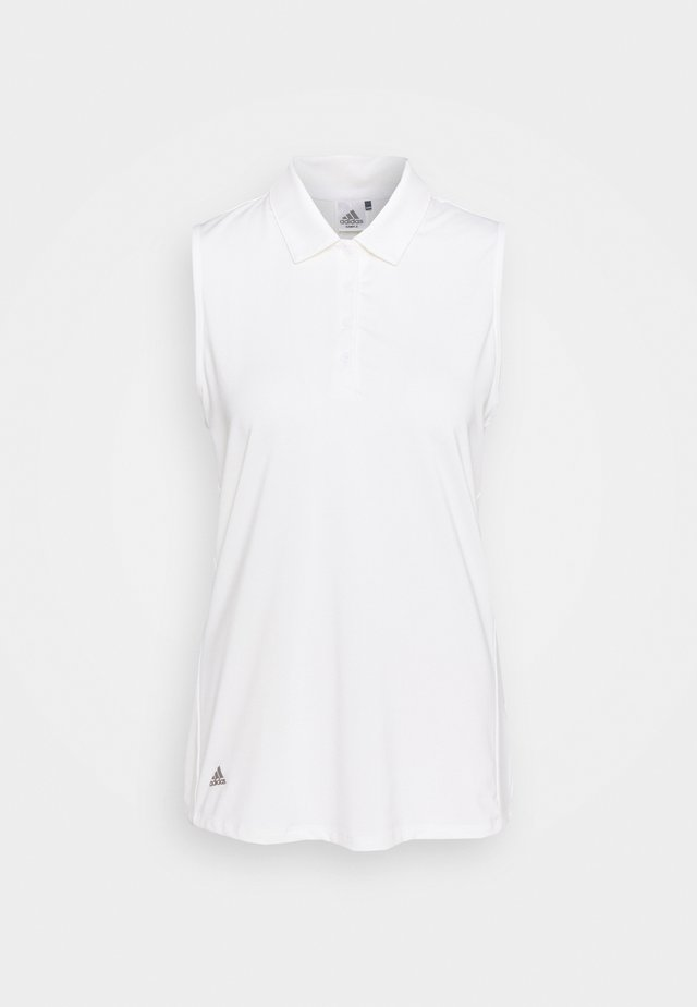 ULTIMATE 365 SOLID SLEEVELESS  - Top - white