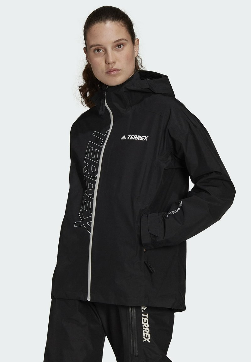 adidas Performance - GORE-TEX J TECHNICAL HIKING JACKET - Training jacket - black