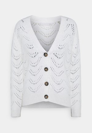PCBIBI CARDIGAN - Gilet - cloud dancer