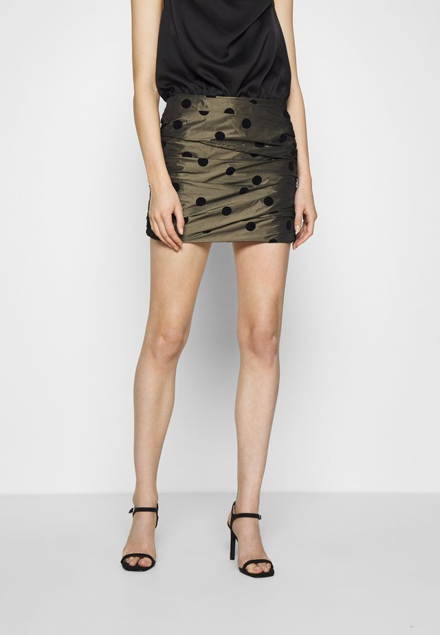 LETS DANCE SKIRT - Gonna a campana - khaki