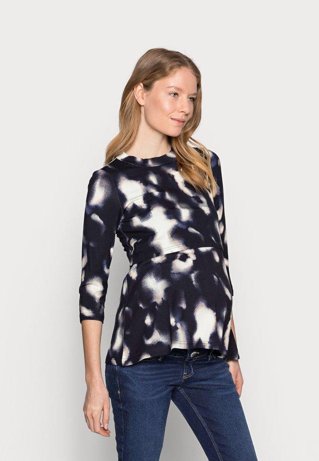 MLSKY JUNE 3/4  - T-shirt à manches longues - navy blazer/cloud