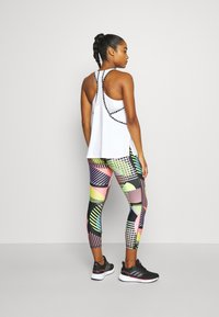 Under Armour - GEO KNOCKOUT TANK - Top - white - 2