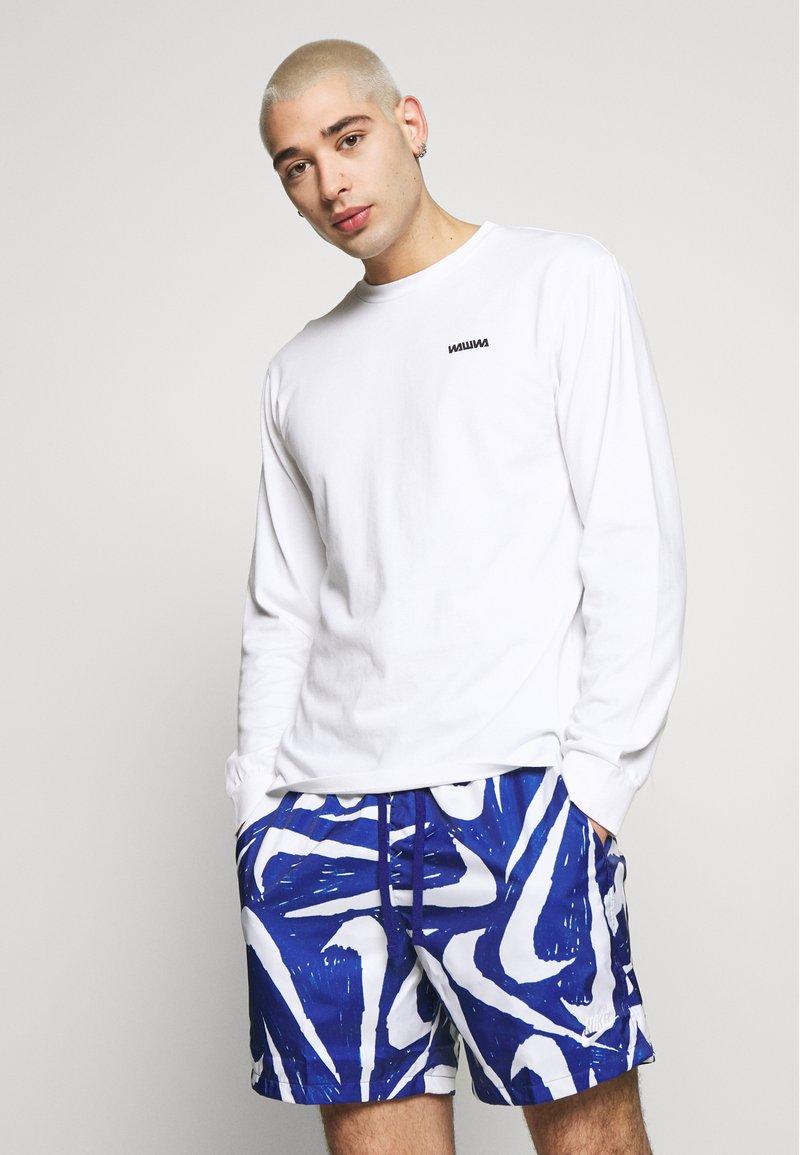 WAWWA - LOGO LONGSLEEVE - Long sleeved top - white