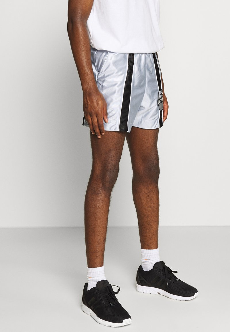 Grimey - ACKNOWLEDGE RUNNING  - Shorts - silver