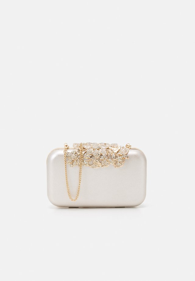 JAMIE EMBELLISHED CLASP - Clutch - silver-coloured