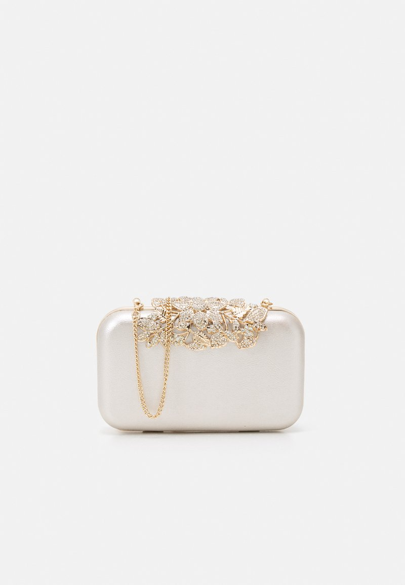 Forever New - JAMIE EMBELLISHED CLASP - Clutch - silver-coloured