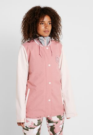 WOMEN - Snowboardjacke - dusty rose