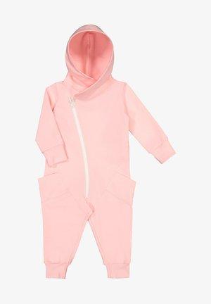 Jumpsuit - romance pink white sand