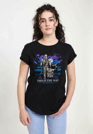 STAR WARS - T-shirt print - black