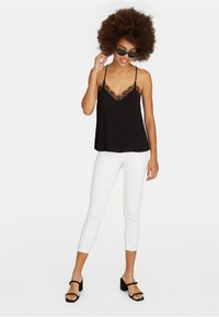 Stradivarius - Top - black - 1