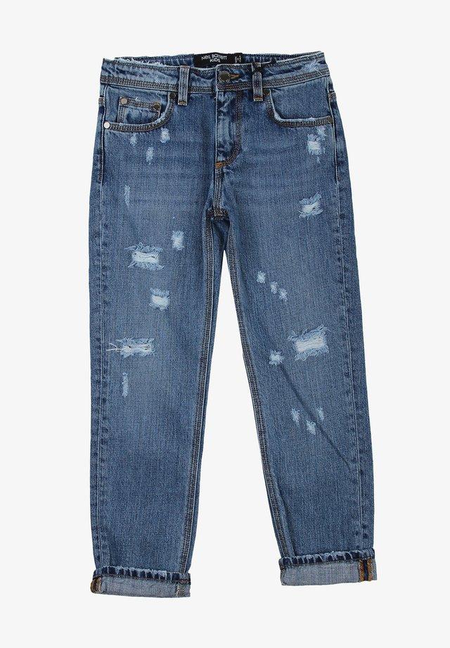 Jeans baggy - denimblu
