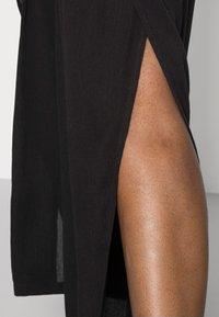 Cream - ALLIE PANTS - Kalhoty - pitch black - 4