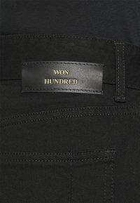Won Hundred - PEARL RINSE  - Džíny Straight Fit - rinse black - 4