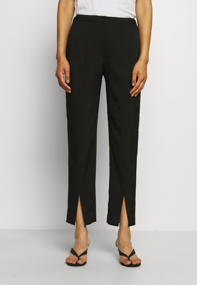 MARGRIT TROUSERS  - Pantaloni - black