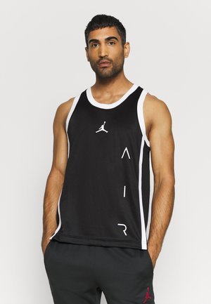 AIR  - T-shirt sportiva - black/white