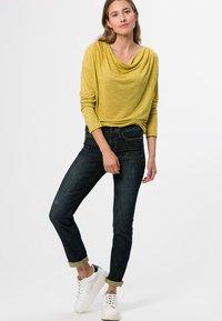 zero - Long sleeved top - light mustard melange - 1