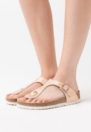 GIZEH  - Flip Flops - mermaid cream