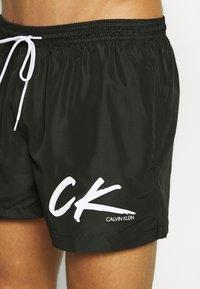 Calvin Klein Swimwear - DRAWSTRING - Surfshorts - black - 3